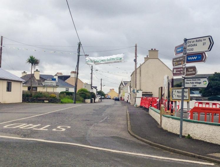 Glencolumkille town